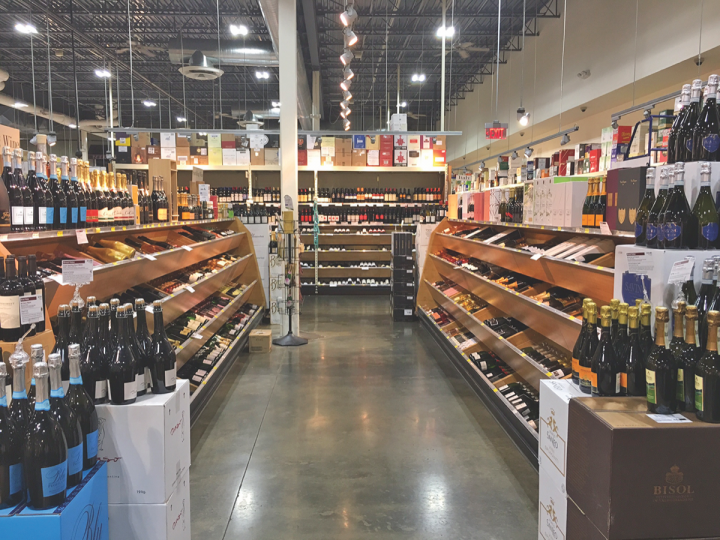 At New Jersey–based Gary's Wine & Marketplace (wine aisle above), customers lean towards high-end sparklers like Champagne, but California selections are gaining ground.