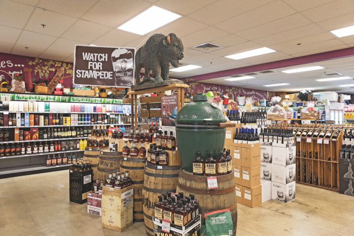 Wine World offers over 1,100 spirits SKUs at each of its four locations. Though Tito's is a top-seller, Bourbon and other whiskies are the major drivers of spirits sales growth.