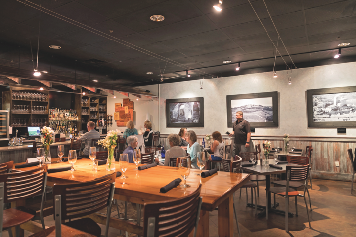 Wine World operates three Wine Bars (Destin, Florida, unit above), which are integrated into the retail space of Wine World stores and offer a wide variety of wines by the glass and bottle.