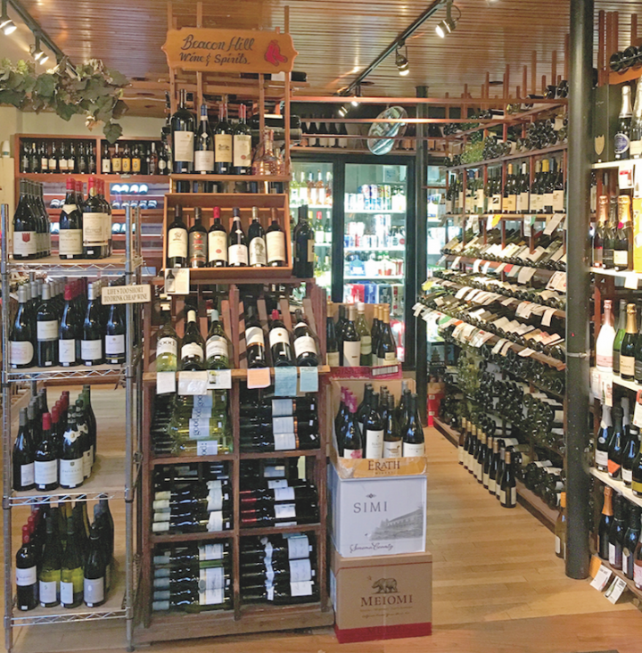 Brewers and retailers (Boston's Beacon Hill Wine & Spirits above) alike are reaping the benefits of brand-finder listings, which provide information on where specific beers are sold.