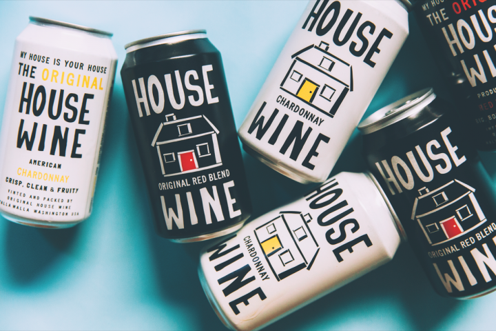 Precept Wines introduced cans for its House Wine brand in 2017. The company expects that 51% of House Wines' depletions will eventually come from its canned business.