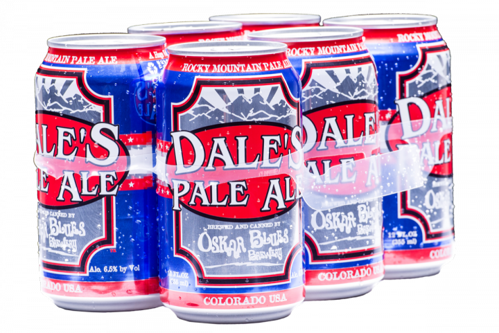 Colorado-based Oskar Blues (Dale's Pale Ale brand pictured) has long packaged its beer exclusively in cans.