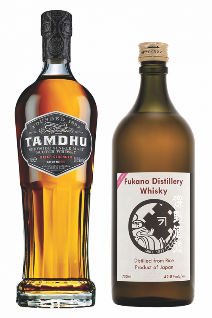 The ImPex Beverages import portfolio features some of the most sought-after whisky brands in the world, including Tamdhu and Fukano, which were ranked in Whisky Advocate's 2017 Top 20.