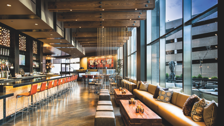 Tag Restaurant Group operates 11 unique venues within the Denver area, including the steakhouse Guard & Grace (interior pictured).