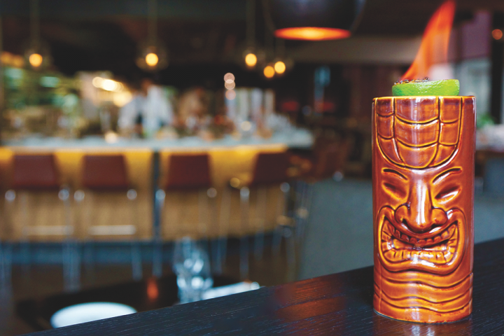 The menus at Tag eateries are influenced by Troy Guard's travels through Asia, Hawaii, and Latin America (Guard and Grace's Tiki This cocktail pictured).