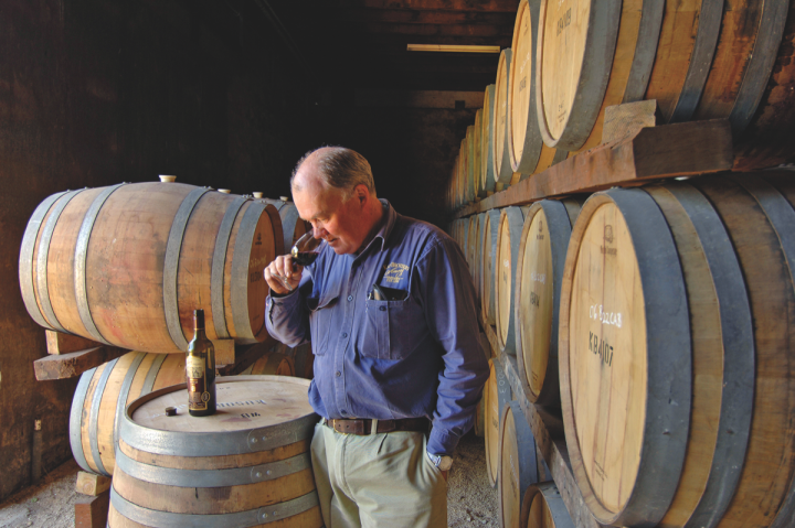 Australia's Kay Brothers (owner Colin Kay pictured) offers three tiers of Shiraz to illustrate the quality potential of Australian wine.