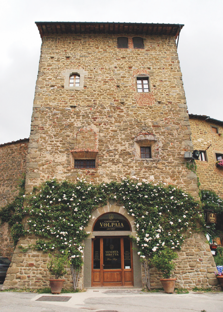 All of Volpaia's wines, including those sourced from the Maremma Toscana DOCG, are produced at the winery's headquarters in the Chianti Classico DOCG.