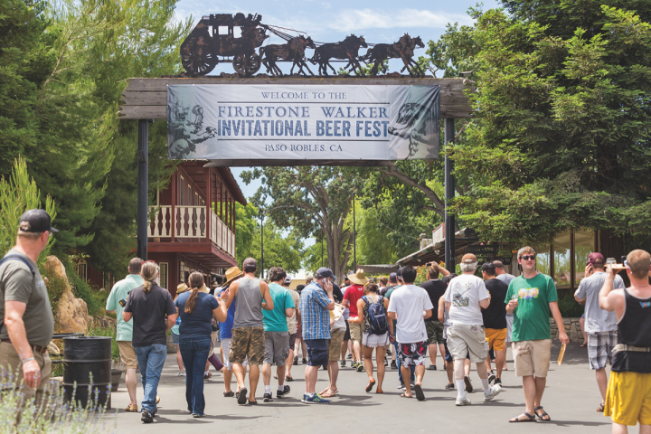 Firestone Walker has hosted the one-day Firestone Walker Invitational Beer Fest in Paso Robles, California since 2012. Over 50 craft breweries participate in the event.