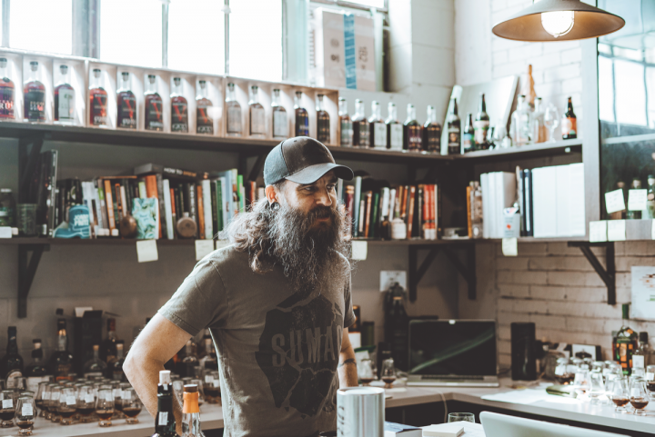 The new distillery has allowed Balcones' head distiller Jared Himstedt (pictured) to double production.