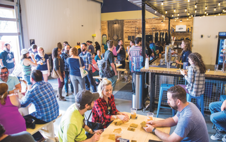 Texas-based Austin Eastciders opened a new tasting room last November. The company shipped over 500,000 cases last year and has now expanded outside of the Lone Star State.