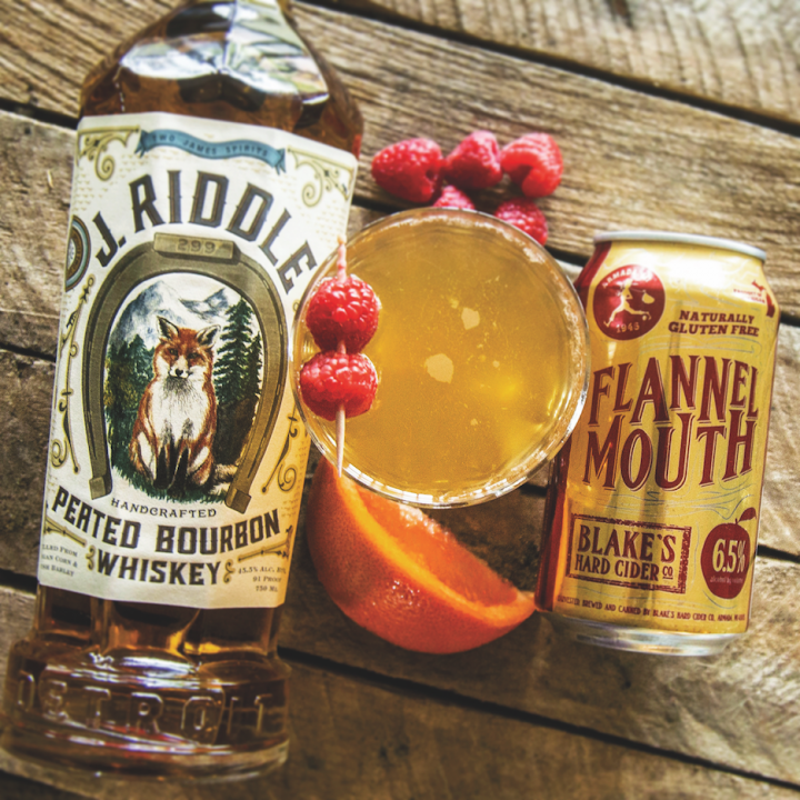 Blake's Cider offers 22 ciders, including Flannel Mouth, made from late season table and dessert apples. The company makes 630,000 gallons of cider annually and drew 800,000 visitors last year.