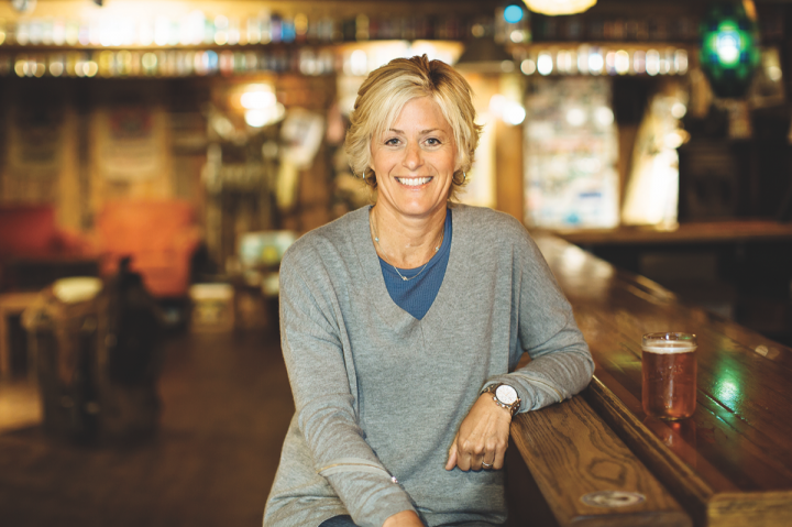 Such innovations as Supercritical IPA, which contained cannabis oil, have kept Lagunitas at the forefront of nontraditional brewing, according to CEO Maria Stipp (pictured).