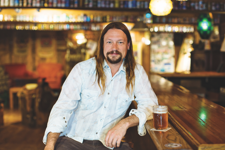 Along with its standard IPA and Little Sumpin' Sumpin' ale, Lagunitas offers limited-quantity beers at its Chicago and Seattle taprooms (master brewer Jeremy Marshall pictured).