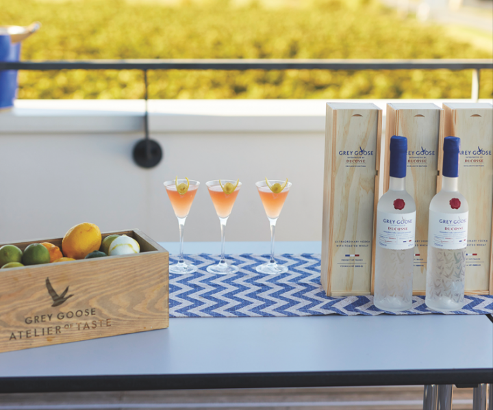 Vodka brands are finding new ways to differentiate. Grey Goose has made an innovation play, launching Grey Goose Interpreted by Ducasse, made in collaboration with chef Alain Ducasse, as well as a VX expression made with Cognac.