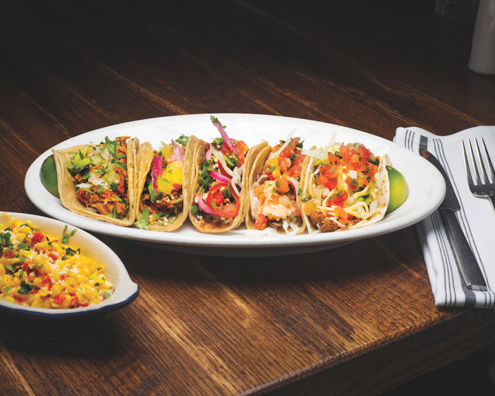 4 Star's on-premise portfolio includes the Mexican-inspired Tuco and Blondie (tacos pictured), which is a departure from its traditional American grill format.