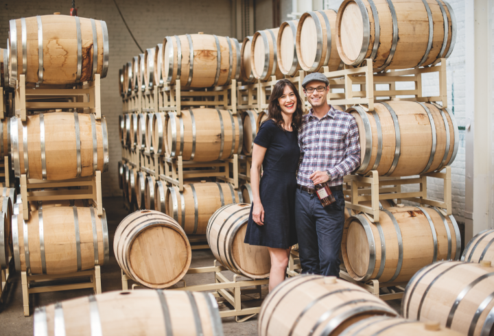 Koval Distillery (co-founders Sonat Birnecker Hart and Robert Birnecker pictured) is among the most successful craft distilleries in the Chicago area.
