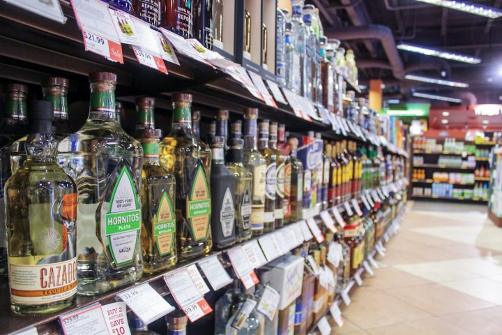 Brands are focusing on off-premise sales (Orlando's ABC Fine Wine & Spirits pictured), using premium packaging to drive at-home consumption.
