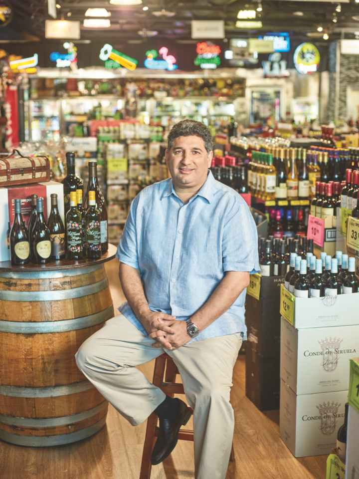 Jensen's owner Eddie Cruz (pictured) has transformed the store into an increasingly prominent player in the Miami beverage alcohol retail scene.