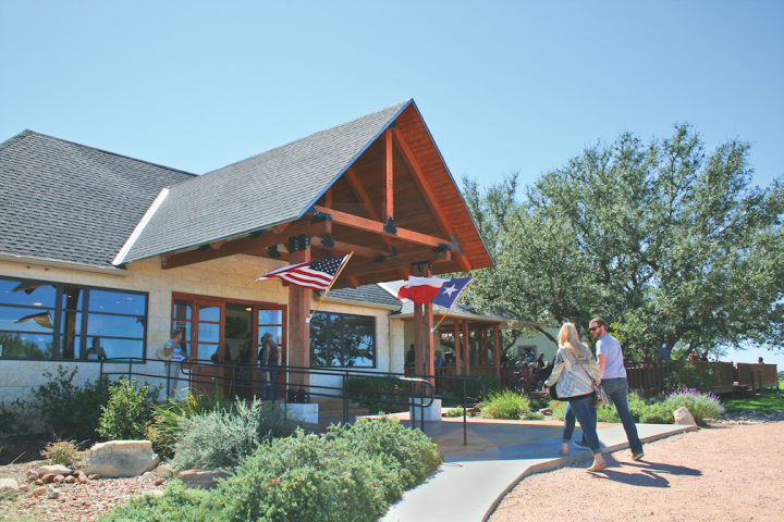 At Pedernales Cellars (pictured), the Kulhken family produces fine wines, with an emphasis on Tempranillo and Rhône varieties.