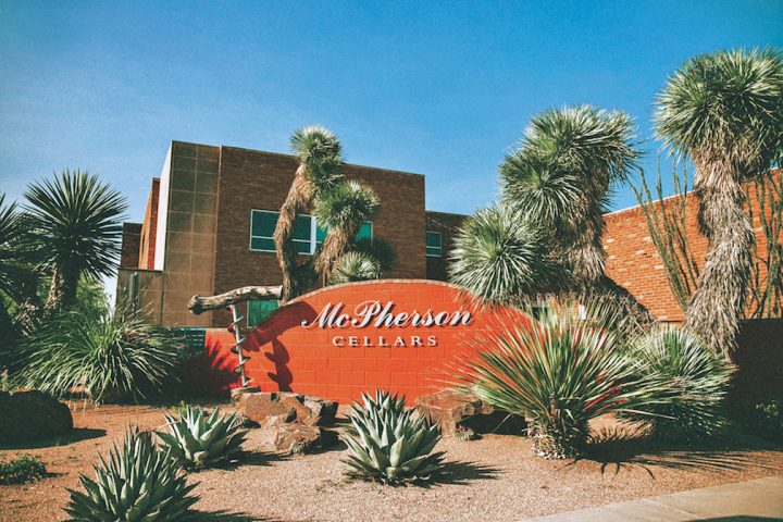 McPherson Cellars (pictured) was founded in Lubbock by Kim McPherson in tribute to his father, Doc, who 40 years ago began one of the first post-Prohibition wineries in Texas.