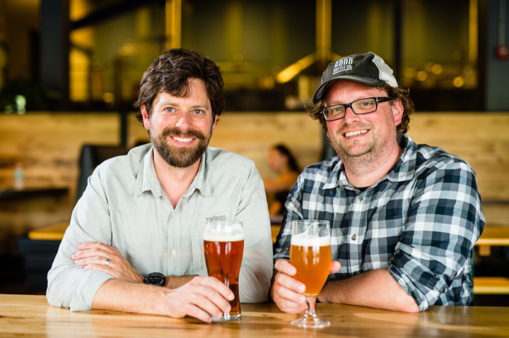Brothers Chris (left) and John Trogner founded Tröegs Independent Brewing in their home state of Pennsylvania in 1997.