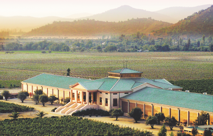 González Byass USA is current refocusing its portfolio on key wine, brandy, and Sherry labels in an effort to further growth. The Spanish company's premium Chilean wine brand Veramonte (winery pictured) will be certified organic starting with the 2017 vintage.