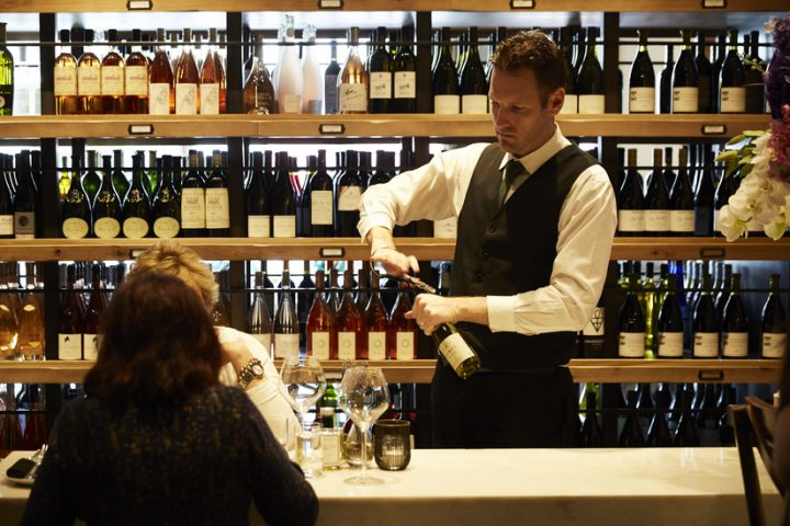 Wally's stocks roughly 7,000 wine SKUs in its venues (Beverly Hills location above), and high-end labels from Bordeaux, California, Champagne, and Burgundy are some of the most popular.