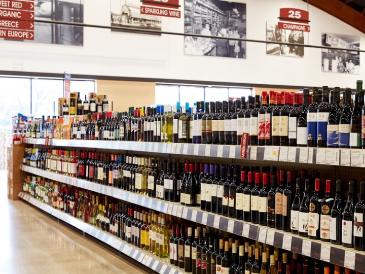 As consumers shop more online, Pontoni has adjusted accordingly. Binny's (wine shelves above) now offers its own mobile app, which benefits consumers shopping remotely and in-store.