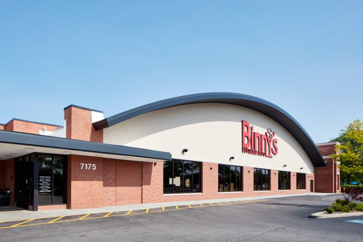 Despite a highly competitive beverage alcohol retail landscape, the future looks bright for Binny's (Lincolnwood exterior pictured), where Pontoni plans to continue offering one of the most diverse spirits selections in the country.
