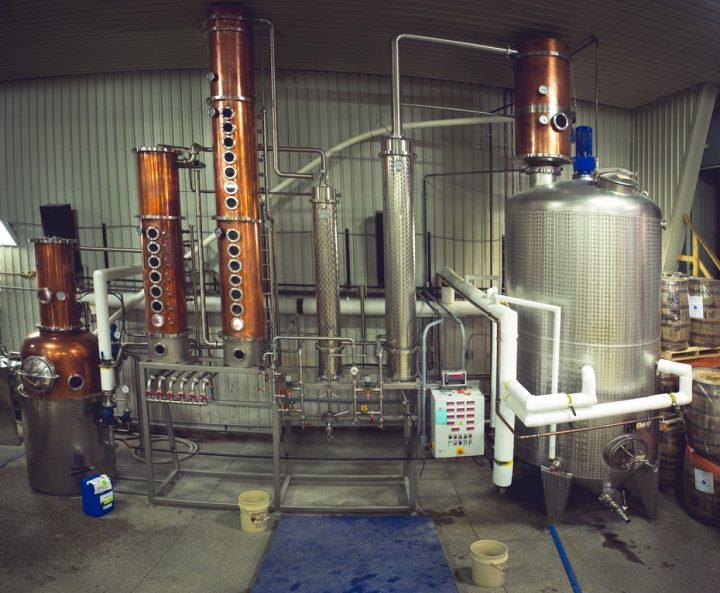 Canadian whisky's growing craft movement may be a future bright spot for the category, with producers like Dillon's Small Batch Distillers (stills pictured) investing in exports.