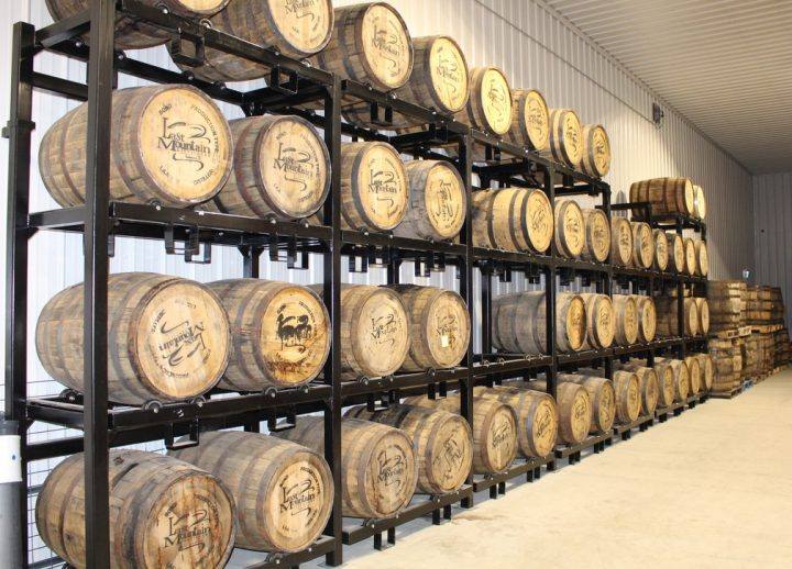 Craft players in the Canadian whisky segment such as Last Mountain Distillery (barrels pictured) from Lumden, Saskatchewan are looking to break through in the U.S. market.
