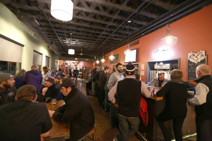 Flying Dog's tasting room (pictured) debuted in 2015. The site, which sells 300 barrels of beer each year, has played a critical role in marketing the brewery.