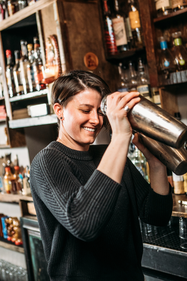 Shannon Ponche began bartending at 21 and hasn't looked back, joining forces with pioneering mixologists to further her career.