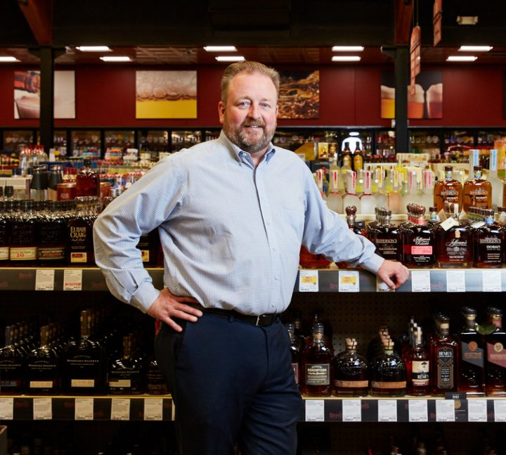 Binny's Beverage Depot spirits buyer Brett Pontoni oversees an extensive spirits portfolio that includes nearly 5,000 labels. Pontoni was instrumental in both ushering in the brown spirits boom nationwide and bringing craft spirits to Binny's.