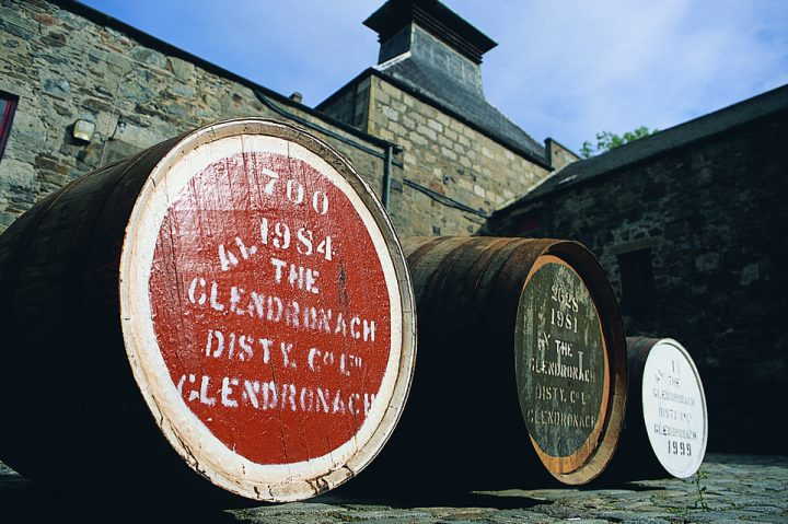 GlenDronach, part of BenRiach Distillery Co., was acquired by Brown-Forman in 2016, marking the company's entry into the single malt Scotch game.
