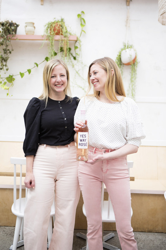 French rosé offerings like Yes Way Rosé (founders Erica Blumenthal and Nikki Huganir above right) have cemented their place in the market.