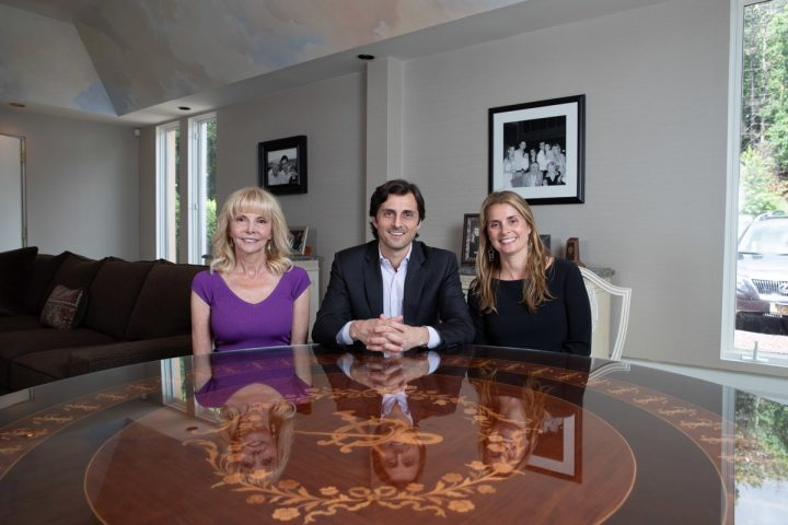 Family still comes first for The Opici Group. Third-generation family member Linda Opici (left) serves as CEO of the overall group, while her son, Don (center), is managing director for Opici Wines and her daughter, Dina (right), is president of Opici Family Distributing.