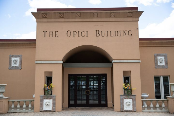 In 2010, Opici Wines (company building pictured) expanded its view, cultivating relationships with producers elsewhere in Europe and South America and producing proprietary California labels.