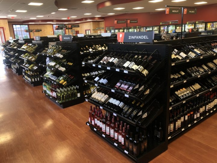 At Liquor 'N More's new Wareham, Massachusetts location (wine selection above), customer service is the main focus.