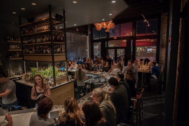 At cocktail bar Hide (bar above) in Dallas, beverage director Scott Jenkins says the emergence of premium mixer brands, such as Addition, help to evolve classic cocktails.