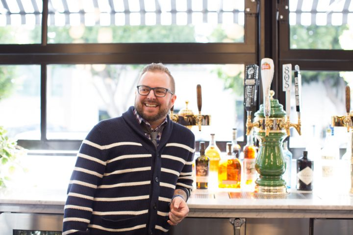 Seasoned bartenders, including Fox Restaurant Group beverage director Mat Snapp (above), often prefer making their own mixers.