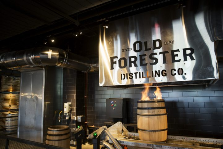 Brown-Forman debuted the Old Forester Distillery (pictured) on Louisville's Whiskey Row in 2018. The new facility cost $45 million, and has a capacity of 100,000 proof gallons.