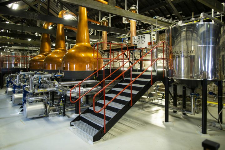 Since 2012, Irish Distillers (stills pictured) parent company Pernod Ricard has spent €400 million ($445 million) to expand capacity at its Midleton Distillery.