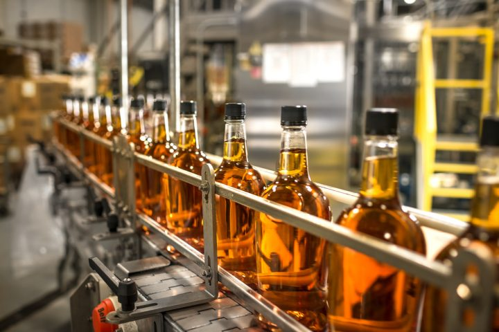 The Heaven Hill Brands (bottling line at its Bardstown, Kentucky-based distillery pictured) portfolio includes such major Bourbon-driven labels as Evan Williams, namesake Heaven Hill, and Elijah Craig, all of which have grown considerably in recent years.