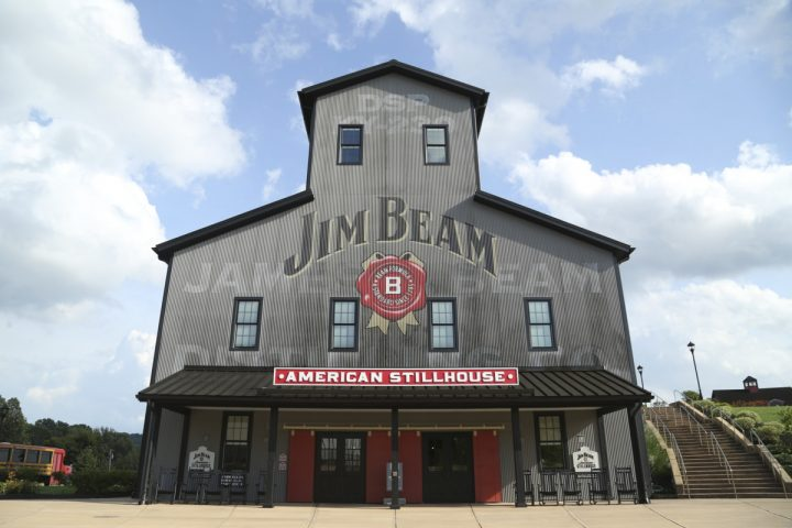 Beam Suntory is the dominant Bourbon player, producing more than half the global Bourbon supply. At the forefront of Beam's Bourbon portfolio is Jim Beam (Clermont, Kentucky-based distillery pictured), which depleted 4.07 million cases (excluding flavors) last year.