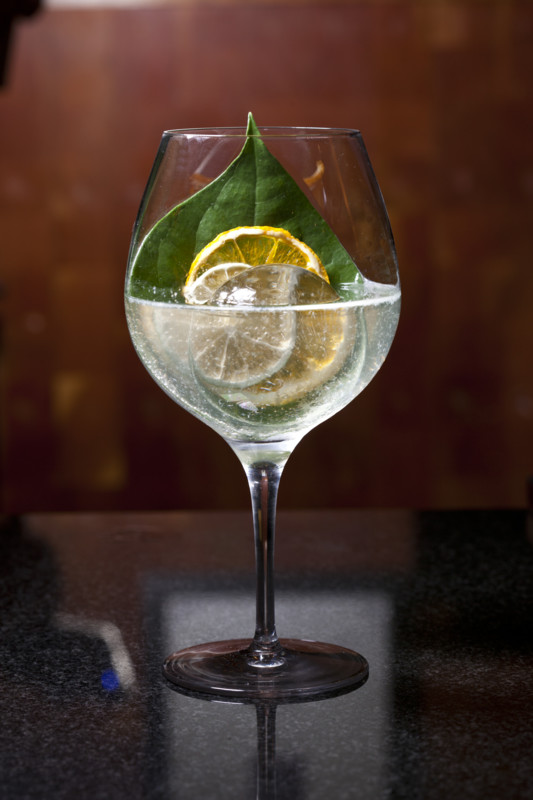 Junoon in New York City offers a Bombay Sapphire-based East India Gin & Tonic (pictured).