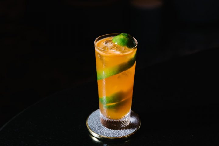 At The Pool in New York City, the Orange cocktail (pictured) features Plymouth gin, which dates back to the 1700s.