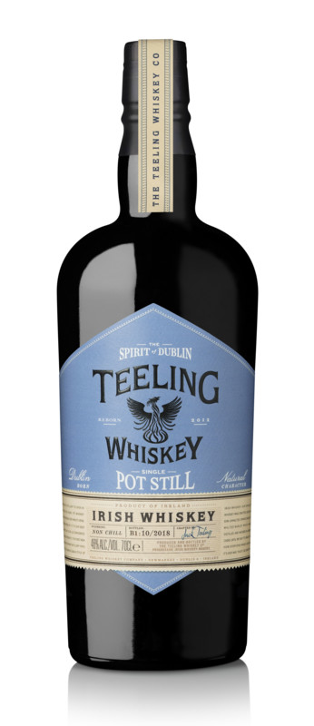 Teeling's single pot still whiskey (pictured) is the city's first example of the style in over four decades.