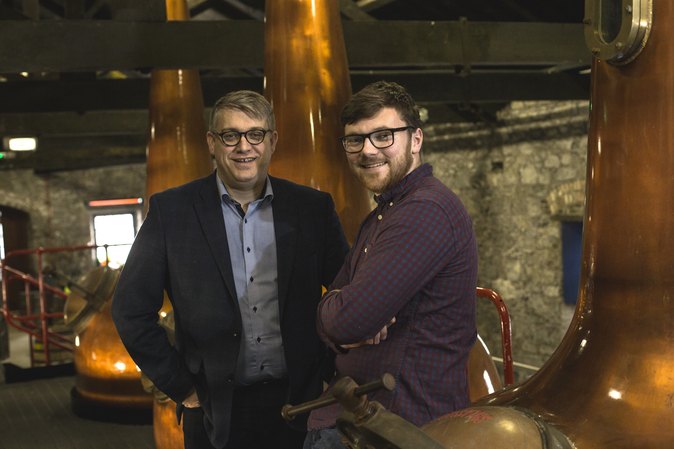 Irish Distillers master distiller Brian Nation and apprentice distiller Henry Donnelly (pictured) have been embracing innovation, aided by Irish whiskey rules that permit a variety of different wood types in the maturation process.