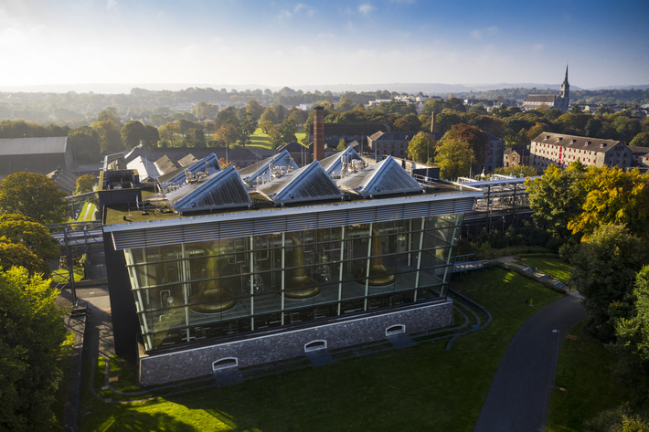 Amid Ireland's whiskey renaissance, top players like Pernod Ricard-owned Irish Distillers have invested heavily in expansion. Irish Distillers doubled capacity by opening its Garden Still House (pictured) at its Midleton Distillery in 2013, and added three new stills in 2017, boosting single pot still whiskey capacity by 30%.